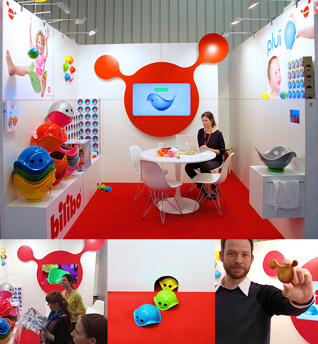 MOLUK booth at the International Toy Fair Nuremberg